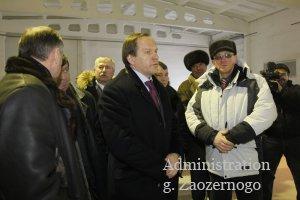 Губернатор Лев Кузнецов в ходе рабочей поездки по южным районам края посетил Минусинск
